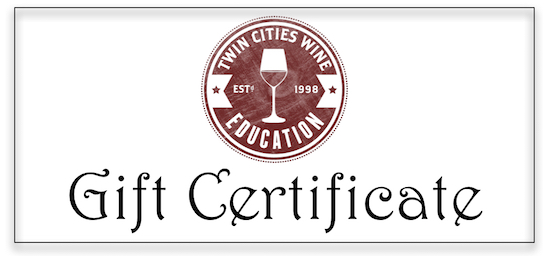 TCWE gift certifcate