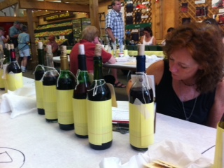 Judging wines at the Minnesota State Fair