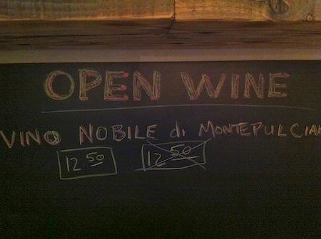 Open Wine, Terzo